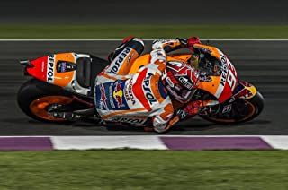 Gifts Delight LAMINATED 36x24 inches Poster: Motogp Qatar Losail 2016 Mark