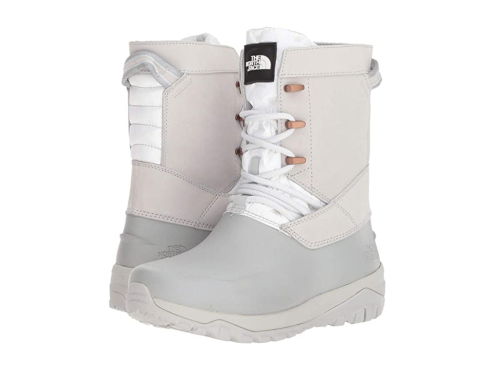 The North Face Yukiona Mid Boot (Tin Grey/TNF White) Women