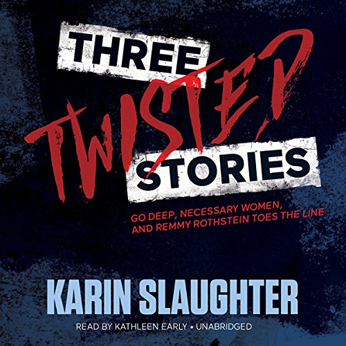 Three Twisted Stories audiobook cover art