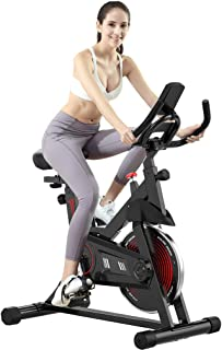 $120 » N/P Exercise Bikes Indoor Cycling Bike Professional Exercise Cycle Bike Sport Bike with LCD Digital Monitor Phone Holder