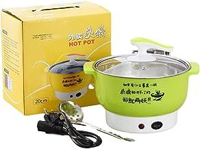 Cuisinière électrique multifonctionnelle en acier inoxydable appareils ménagers en plastique double puissance de feu fonct...
