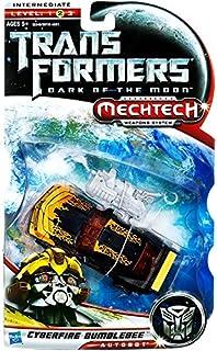 Hasbro Transformers Dark of the Moon Mechtech Cyberfire Bumblebee Deluxe Action Figure