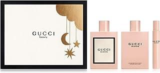 Gucci Bloom for Women 3 Piece Set Includes: 3.3 oz Eau de Parfum Spray + 3.3 oz Body Lotion + 0.25 oz Eau de Parfum Fragra...