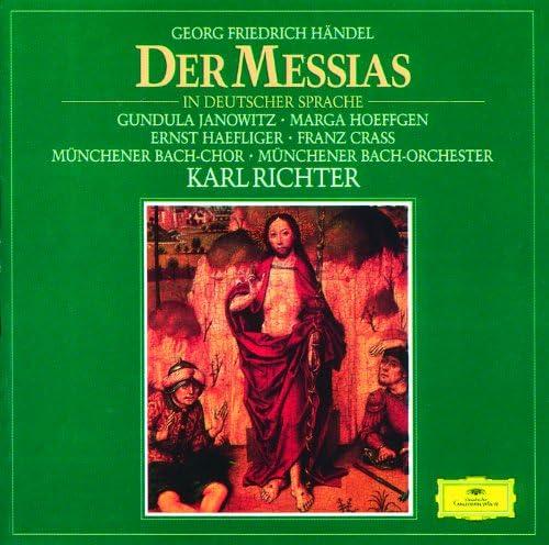 Münchener Bach-Orchester, Karl Richter & George Frideric Handel