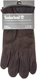Timberland Nubuck Touch-Screen Mens Gloves Brown