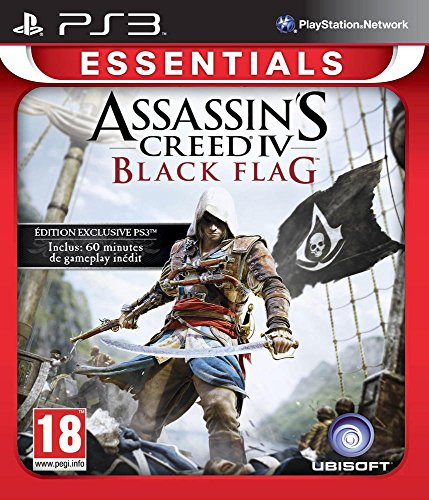 Ubisoft Assassin's Creed 4: Black Flag, PS3 Basico PlayStation 4 Francese videogioco