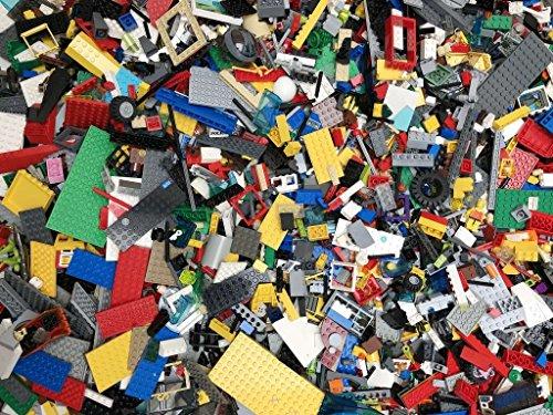 Lego 500g pièces mixtes, des blocs, des briques 500g 0,5 kg, assortiment aléatoire vrac