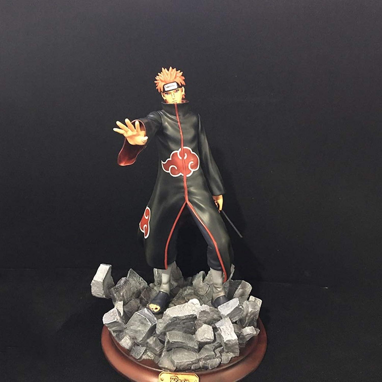 solo para ti QCRLB QCRLB QCRLB Naruto Anime Estatua Pein Resina Juguete Modelo Exquisito Anime Decoración Manualidades Colección -12.2in Modelo de Juguete  Hay más marcas de productos de alta calidad.