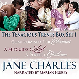 Tenacious Trents, Box Set 1                   By:                                                                                                                                 Jane Charles                               Narrated by:                                                                                                                                 Marian Hussey                      Length: 18 hrs and 28 mins     15 ratings     Overall 4.1