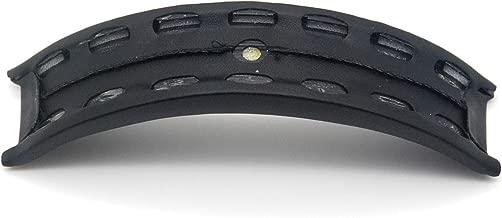 Leather Foam Cortex Head Bridge Cushion for Beats Studio 1.0 Wired & Wireless Headphone Headset Earphone (Black)