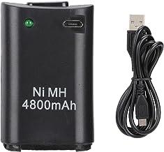 Batterie Rechargeable 2-en-1 Batterie Rechargeable pour Manette de Jeu pour Xbox 360 Batterie Ni-MH Gamepad