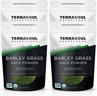 Terrasoul Superfoods Organic Barley Grass Juice Powder, 20 Ounces - USA Grown