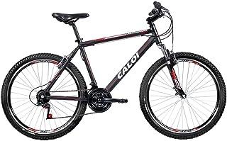 Bicicleta Mtb Caloi Aluminum Sport Aro 26-21 Marchas Preta