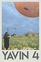 Yavin 4 Retro Forest Planet Fantasy Travel Movie Fantasy Travel Movie 12x18 inches Multi 294920