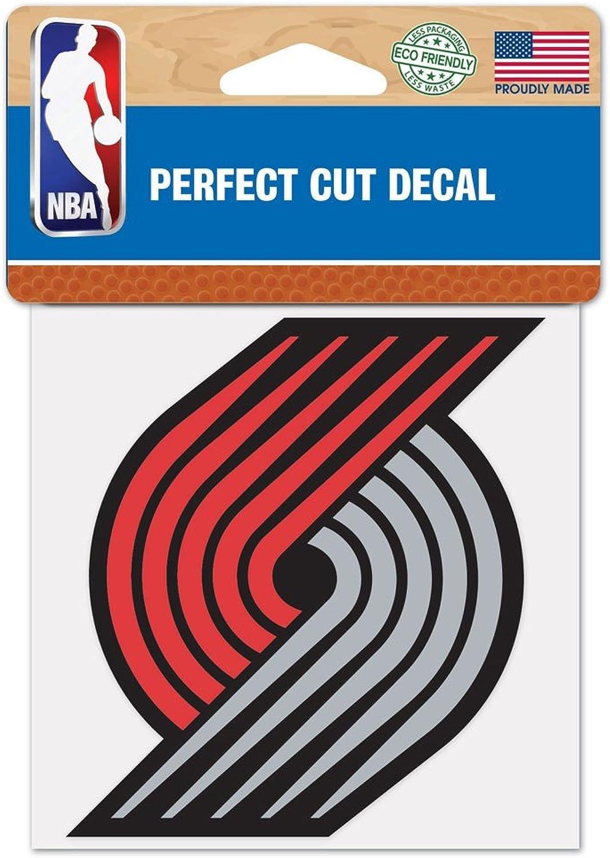 (Portland Trail Blazers, 10cm x 10cm )  NBA Perfect Cut Colour Decal