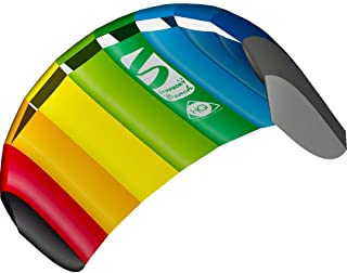 HQ Kites Symphony Beach III 1.3 Stunt Kite 51 Inch Dual - Line Sport Kite, Color: Rainbow - Active Outdoor Fun for Ages 8 and Up