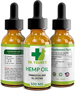 Dr. Young's Hemp Oil Dogs Calming Cats