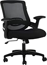 Hbada Ergonomic Office Chair, Computer Desk Chair, Swivel and Rocking Task Chair with Strong Shield Type Lumbar Support, H...
