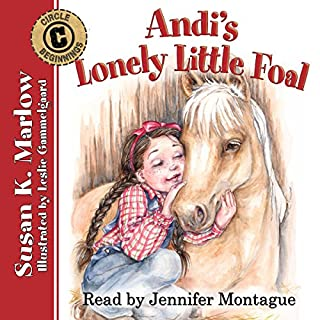 Andi's Lonely Little Foal audiobook cover art