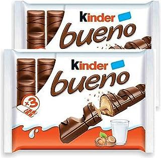 Kinder Bueno Milk Chocolate 43g bar, 12 count