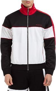 Givenchy Men Zip-up Sweatshirt Bianco