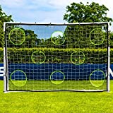 FORZA Mur de Tir pour Buts de Football (Poteaux Pas Inclus) (3m x 2m)