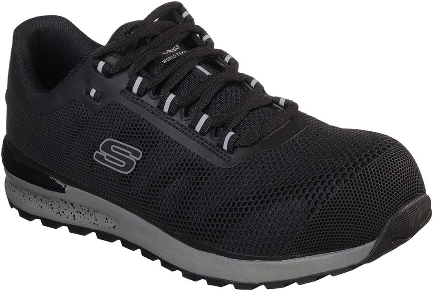 Skechers Mens Bulklin Durable Lightweight Lace Up Trainers