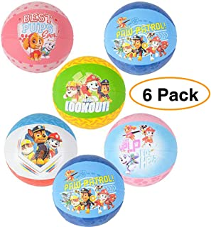 """Mini Paw Patrol Basketballs 5"""" Kids Bouncy Play Balls 