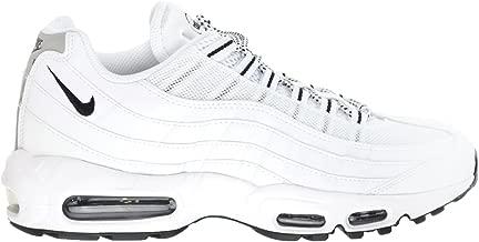 Nike Men's Air Max 95 Casual Shoes (10, White/Black)
