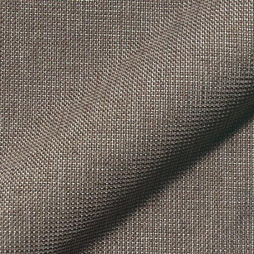 Stoff Polsterstoff Möbelstoff Bezugsstoff Meterware für Stühle, Eckbänke, etc. - Mondo Braun Uni - MUSTER
