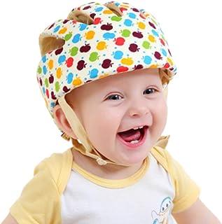 TMSL Newcomdigi Casco de Seguridad para Bebé Niño Infantil Gorra Antigolpes Sombrero para Proteger Cabeza Aprender Gatear ...