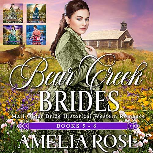 『Bear Creek Brides: Books 5 - 8』のカバーアート