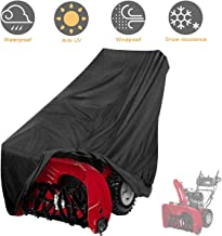 "Tvird Snow Thrower Cover, Two Stage Snow Blower Cover, Large Size 60"" L x 33"" H.."