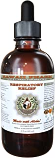 Respiratory Relief, VETERINARY Natural Alcohol-FREE Liquid Extract, Pet Herbal Supplement