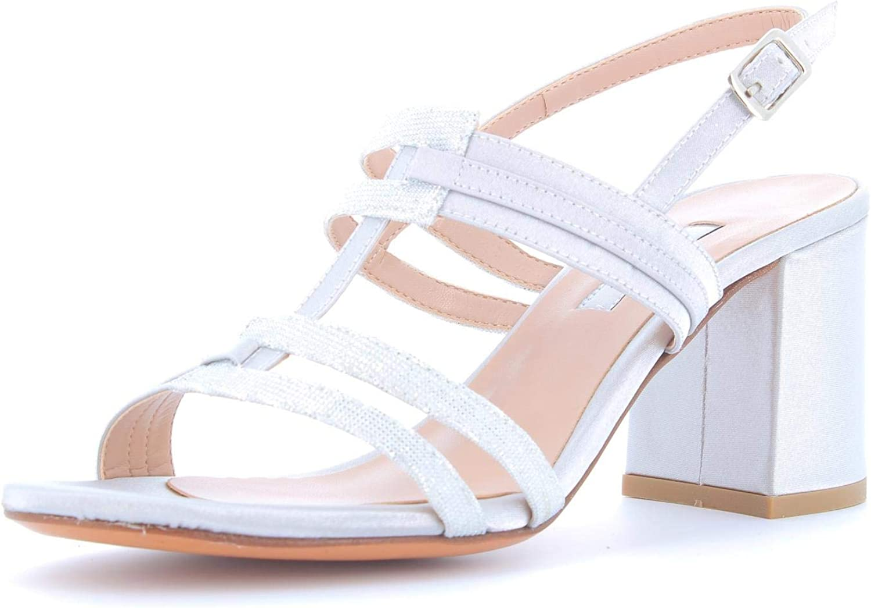 L'AMOUR women's shoes sandal 953 SILVER size 40 Silver