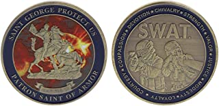 Ladaidra Commemorative Coin Saint George Cop Special Police Security Collection Art Crafts Souvenir Collectible Coins