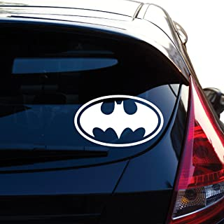Yoonek Graphics Batman Decal Sticker for Car Window, Laptop, Motorcycle, Walls, Mirror and More. # 452 (6