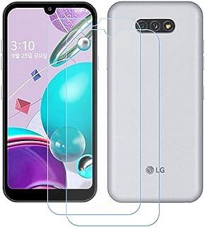 TTJ 2 stycken skottsäkert glas skyddsfolie för LG K31, 9H hårdhet härdat glas pansarglasfilm anti-rep/anti-fingeravtryck/a...