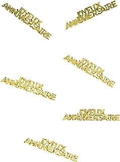 Générique Confettis Joyeux Anniversaire Or