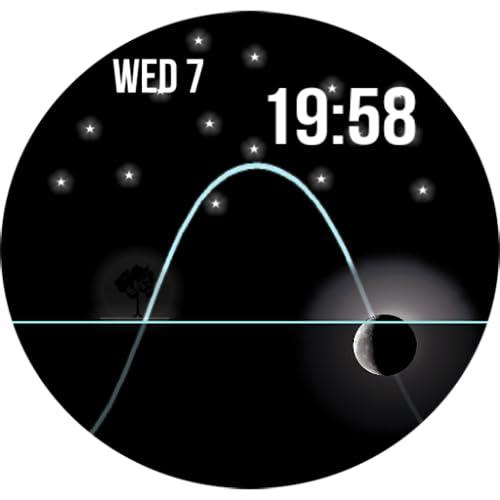 Solar Android wear wmwatch WatchFace