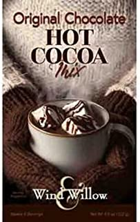 Wind & Willow - Original Chocolate Hot Cocoa - Mix 4.6 Ounces - Makes 4 Services