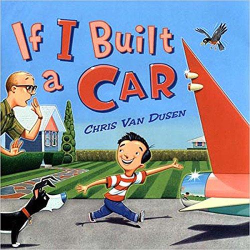 If I Built a Car audiobook cover art
