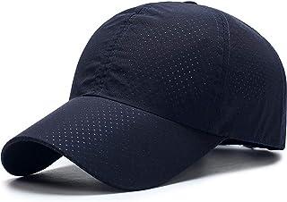 キャップ 帽子,WOOSOO 夏 秋 メッシュキャップ 通気性抜群 日除け UVカット 紫外線対策 ゴルフ 登山 釣り 運転 アウトドアなどに 無地 男女兼用