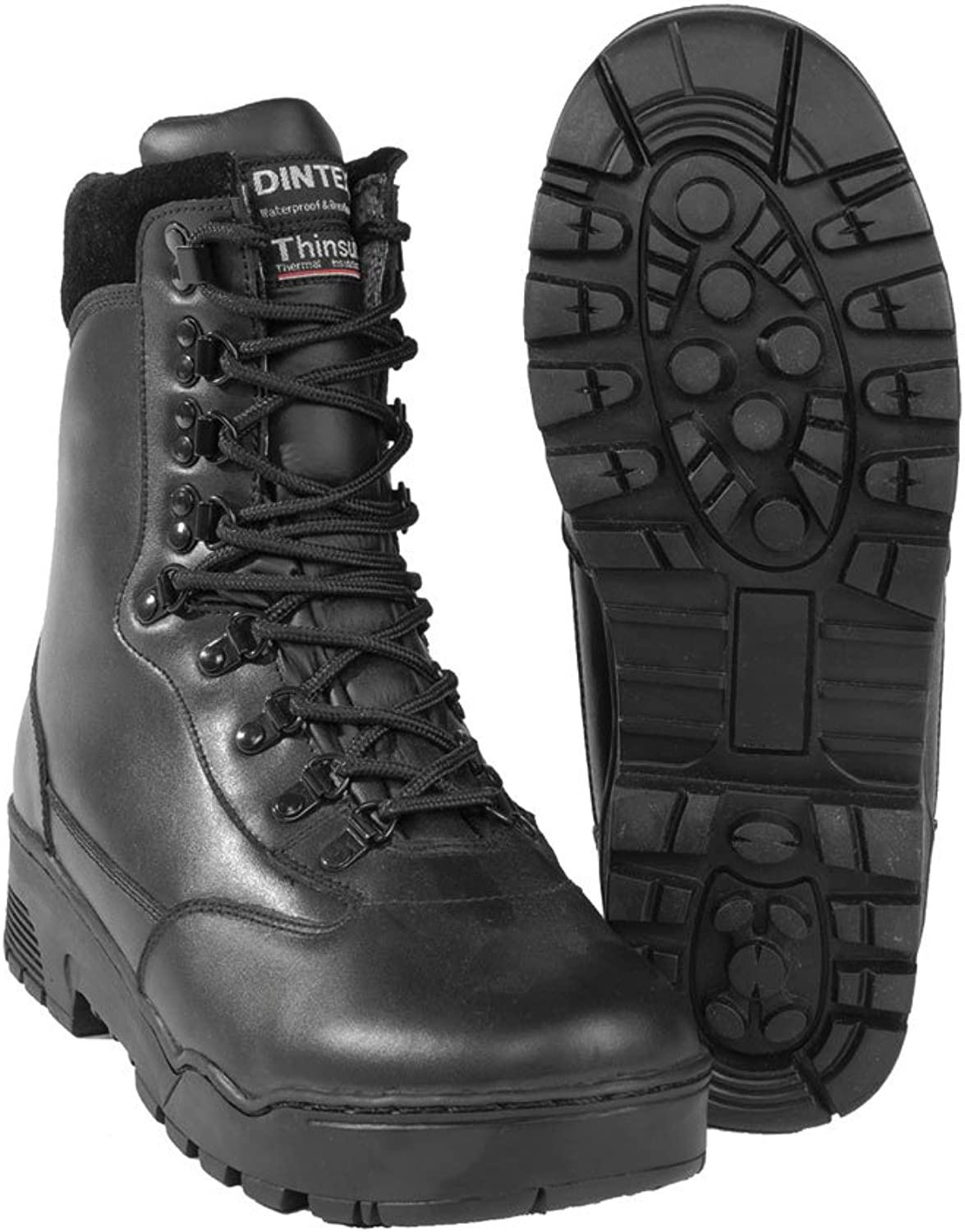 Mil-Tec Waterproof Tactical Leather Boots