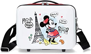 Disney Minnie Around the World Nececer Adaptable Rojo 29x21x15 cms ABS