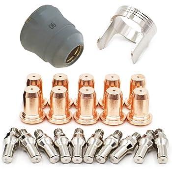 PT25//40//60 Nozzles,tips 1.0 for IPT60,IPT40 Plasma consumables,23pcs.