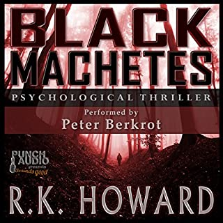 Black Machetes audiobook cover art