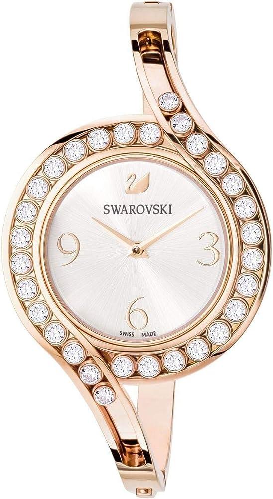 Swarovski crystals lovely orologio da donna in acciaio 5453648