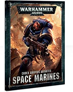Games Workshop Warhammer 40,000 Codex: Space Marines