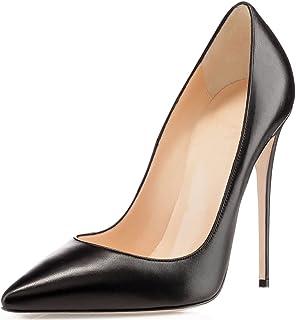 a44bb74be9 Amazon.it: scarpe decollete nere pelle